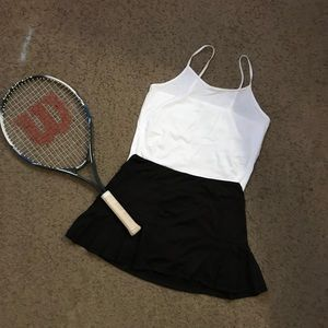 Women's Tennis Outfit Tennis Racquet Included
